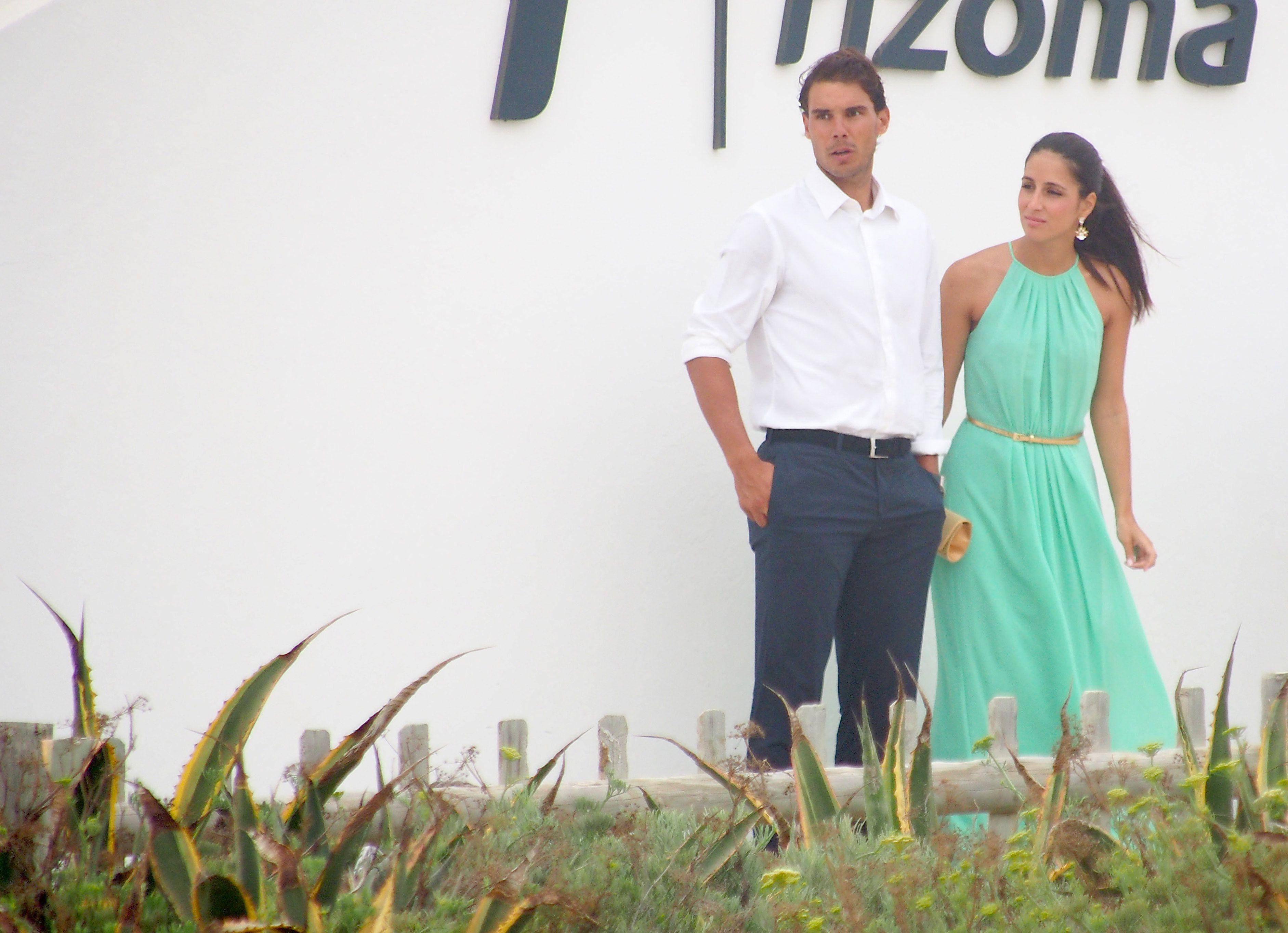 Rafael Nadal And His Girlfriend Maria Francisca Perello At Friends Wedding 11 Rafael Nadal Fans