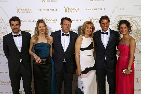 Rafael Nadal Family Sister Maribel Father Sebastian Mother Ana Maria And Girlfriend Maria Francisca Perello Rafael Nadal Fans