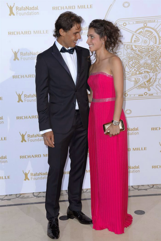 Rafael Nadal Girlfriend Maria Xisca Perello At Rafa Nadal Foundation Gala In Paris Rafael Nadal Fans