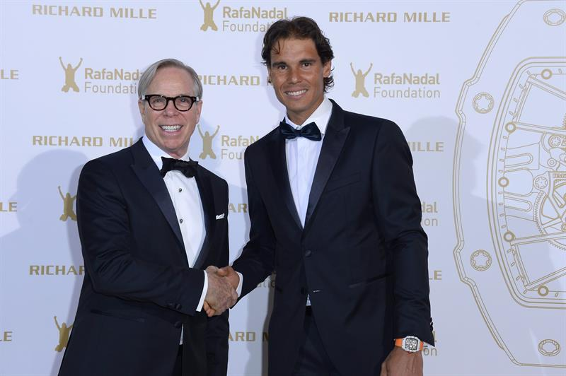 Us Fashion Designer Tommy Hilfiger And Rafael Nadal Attend Gala For The Rafa Nadal At Foundation In Paris Rafael Nadal Fans