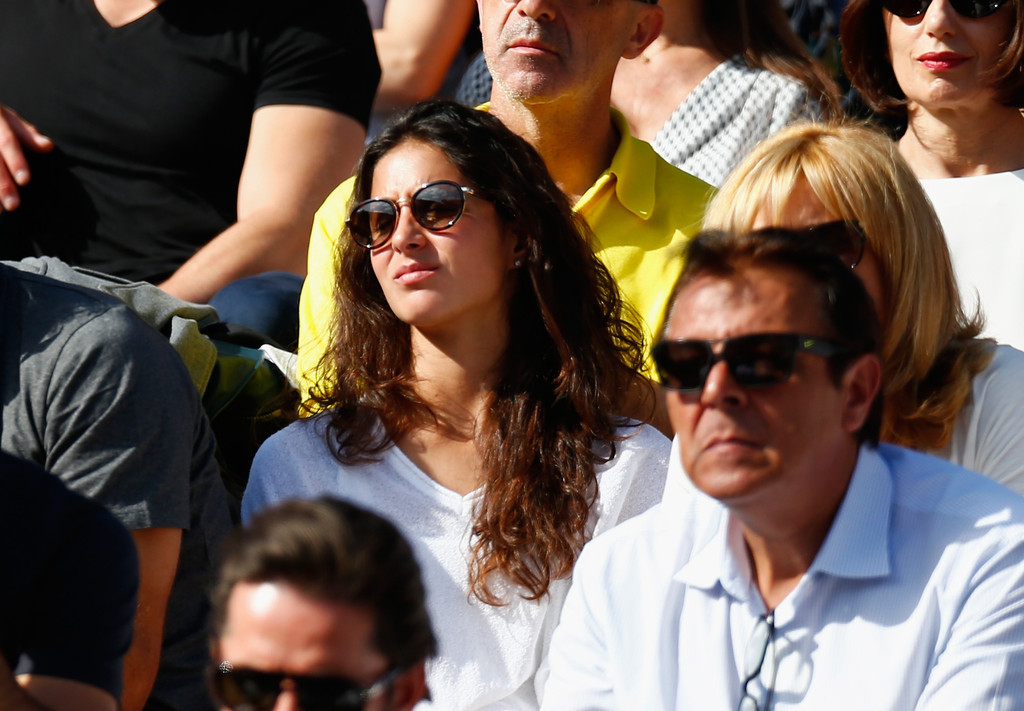 Sebastian Nadal And Rafael Nadal Girlfriend Maria Francisca Perrello At French Open Sf 2015 Rafael Nadal Fans