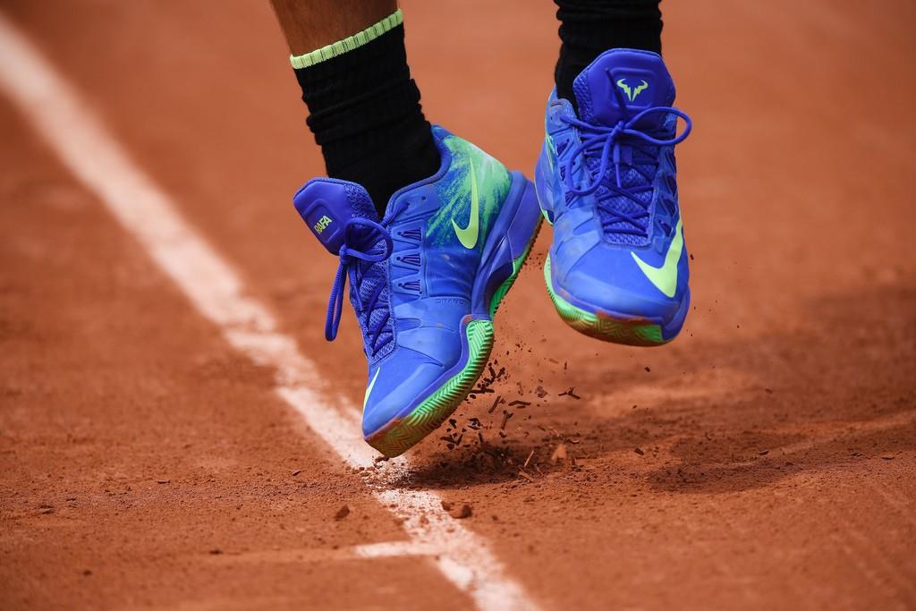 Rafael Nadal shoes Roland Garros 2017