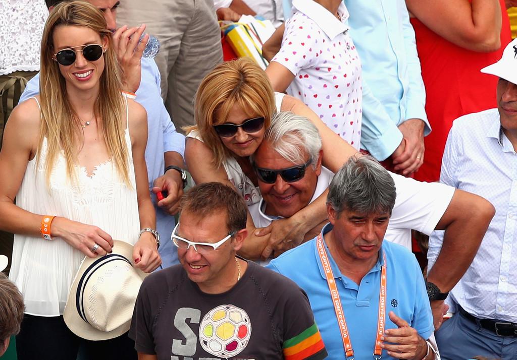Rafael Nadal Mother Father Sister Family At Roland Garros Final 2017 Rafael Nadal Fans