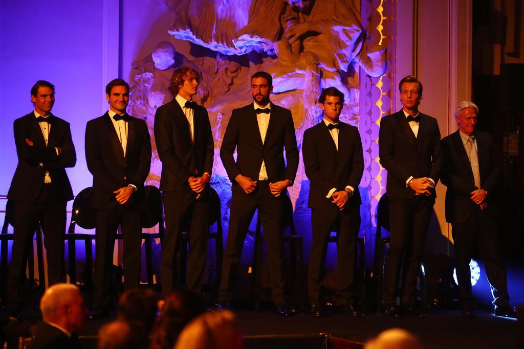 Rafael Nadal Roger Federer Alexander Zverev Nick Kyrgios Denis Shapovalov Enjoy Gala Dinner Before Laver Cup 9 Rafael Nadal Fans