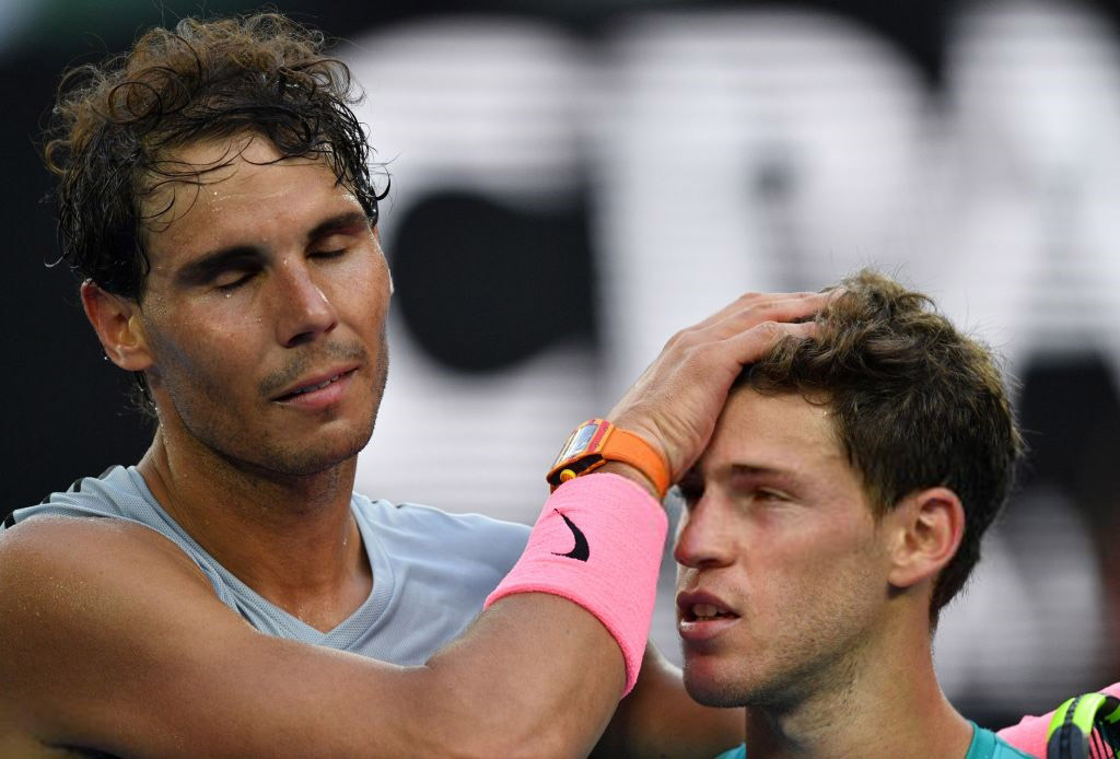 Rafa Nadal Defeats Diego Schwartzman At Australian Open 2018 16 Rafael Nadal Fans