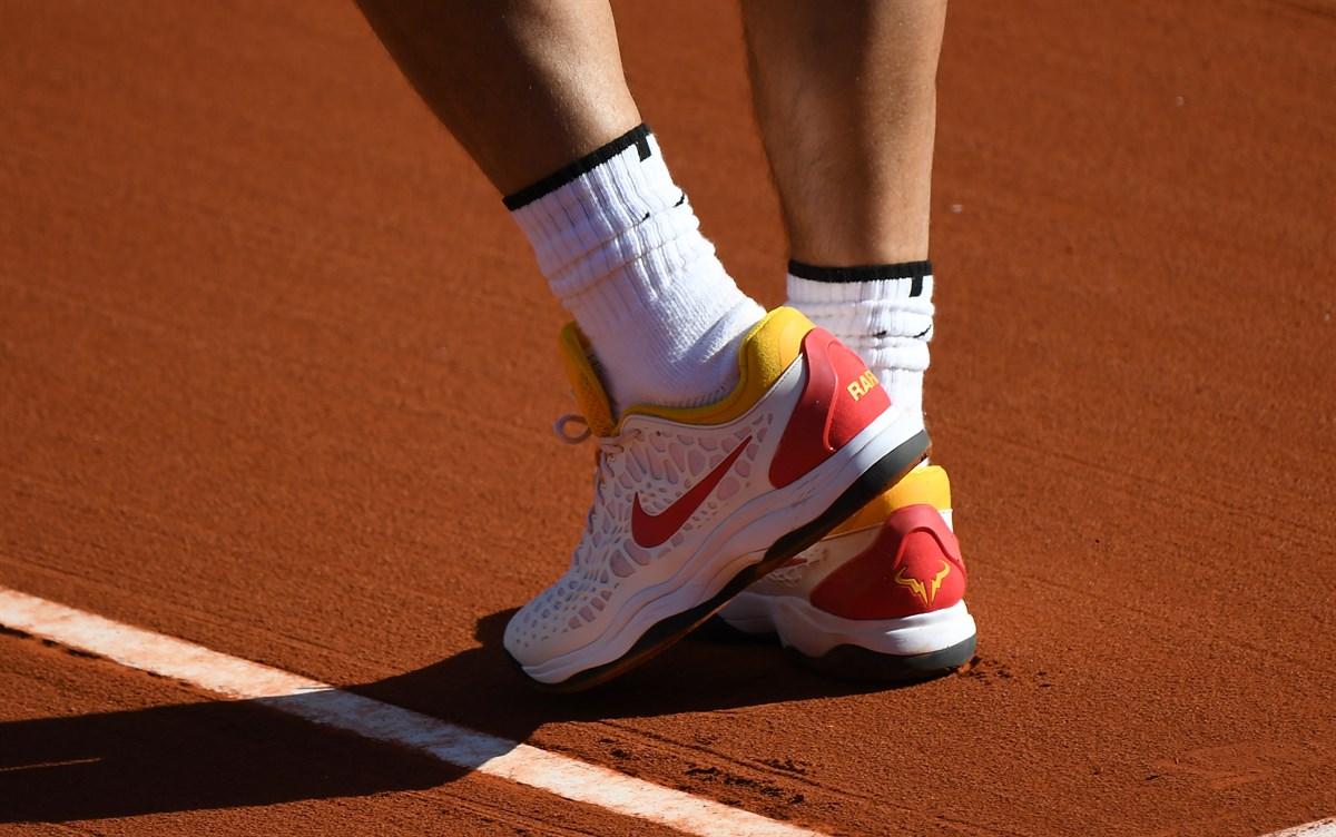 Rafael Nadal Shoes Clay Davis Cup 2018 Rafael Nadal Fans