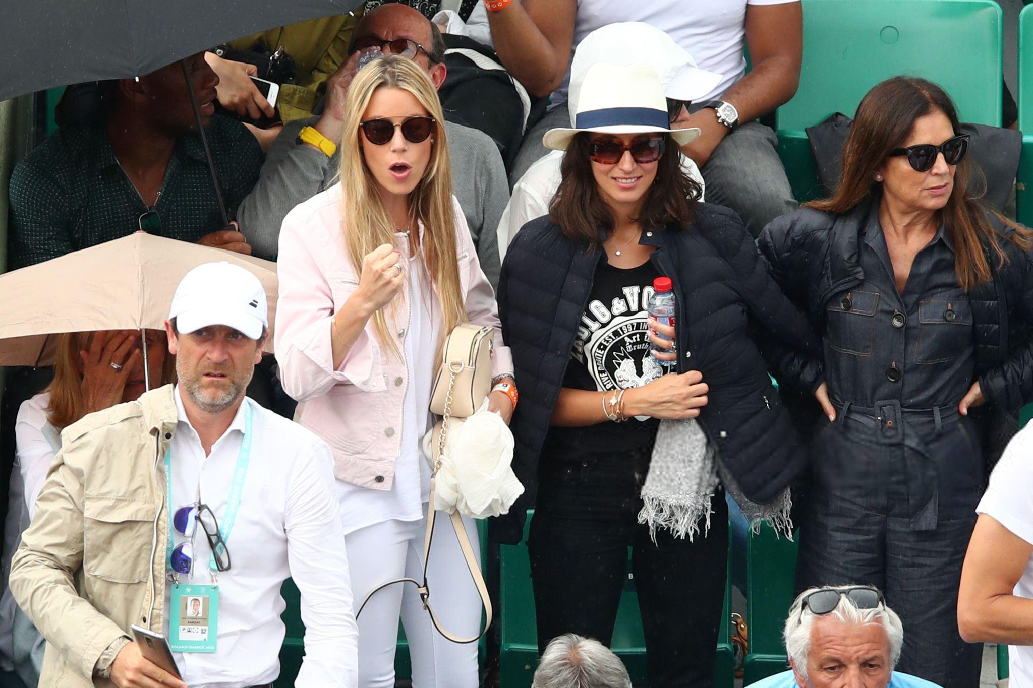 Rafael Nadal Girlfriend Maria Francisca Perello And Sister Maria Isabel Cheer On Rafa At Roland Garros Qf 2018 Rafael Nadal Fans