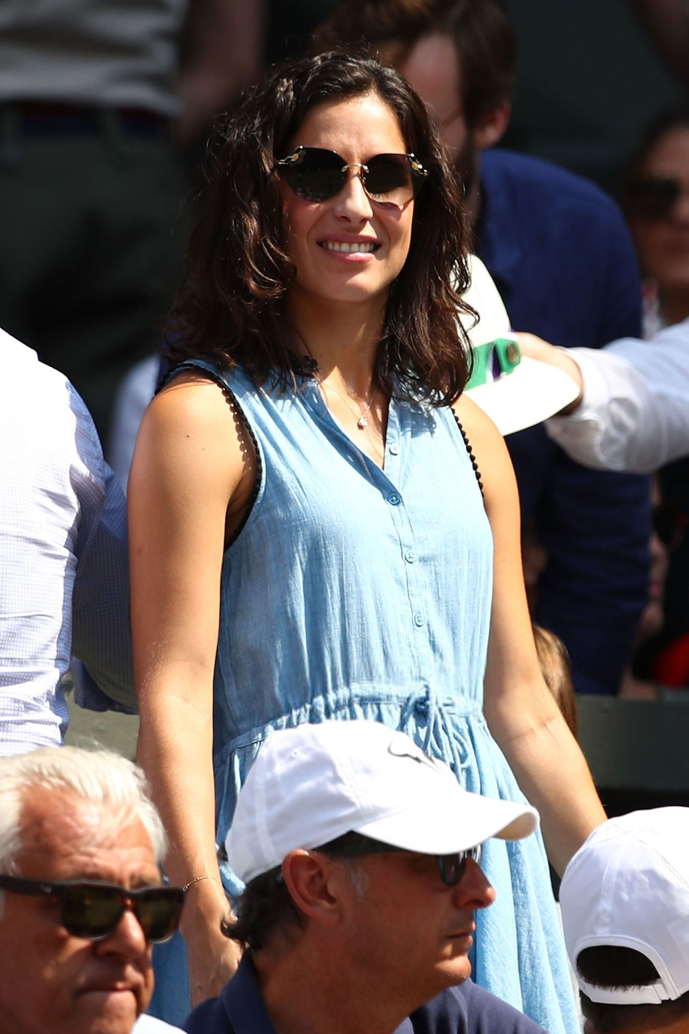 Rafael Nadal Girlfriend Maria Francisca Perello At Wimbledon Third Round Photo 2018 1 Rafael Nadal Fans