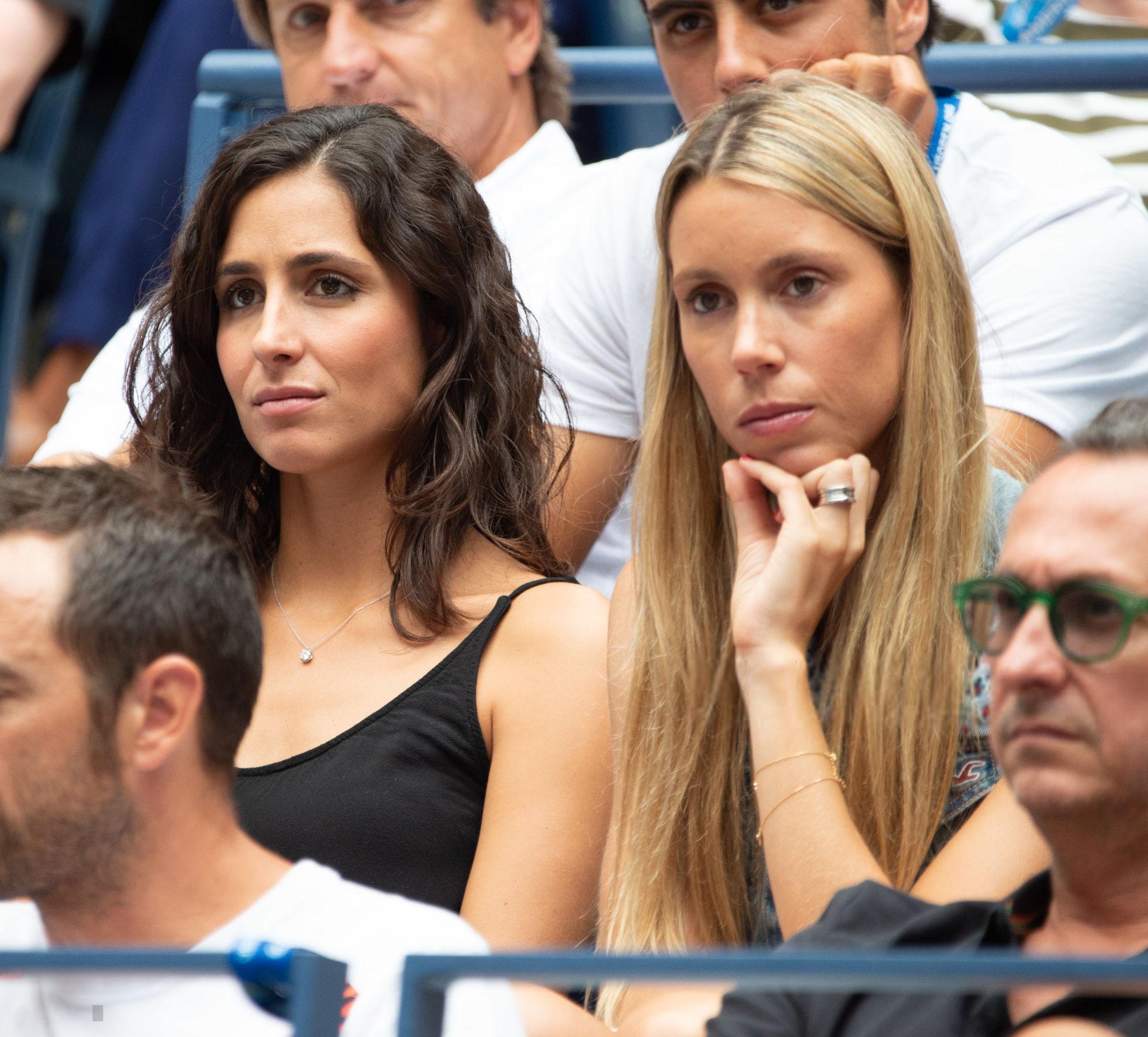 Rafa S Girlfriend Maria Francisca Perello And Sister Maria Isabel Nadal 2018 Us Open 2 Rafael Nadal Fans