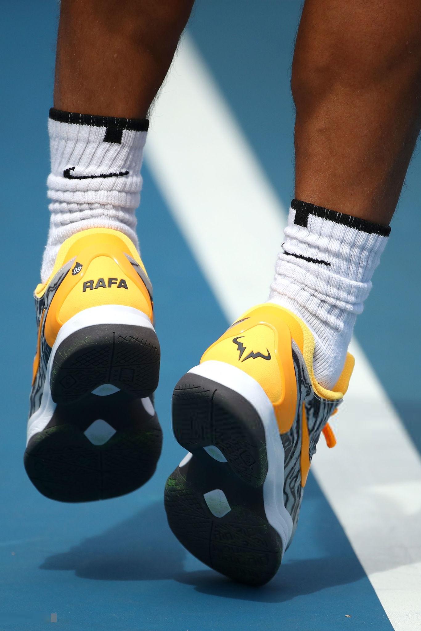 Rafael Nadal Nike Shoes Australian Open 2019 Final 2 Rafael Nadal Fans