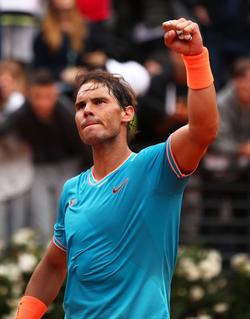 Nadal celebrates year-end world number one ranking with ...   Nadal Tsitsipas