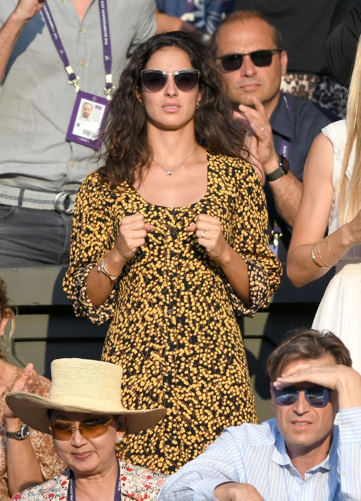 Rafael Nadal Girlfriend Fiance Maria Francisca Perello At Wimbledon 2019 Photo Rafael Nadal Fans