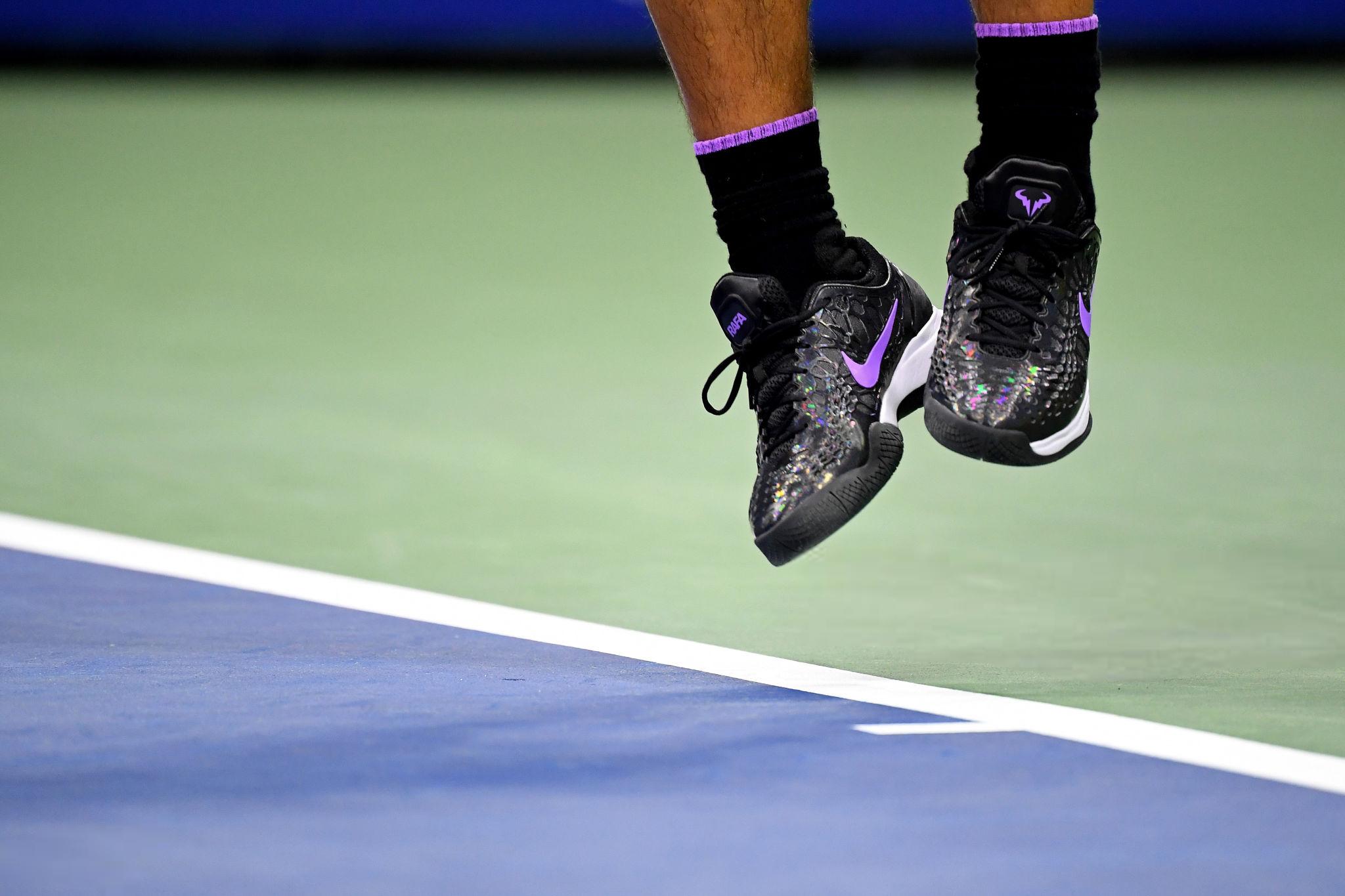 Rafael Nadal 2019 Nike Shoes Us Open Photo Rafael Nadal Fans