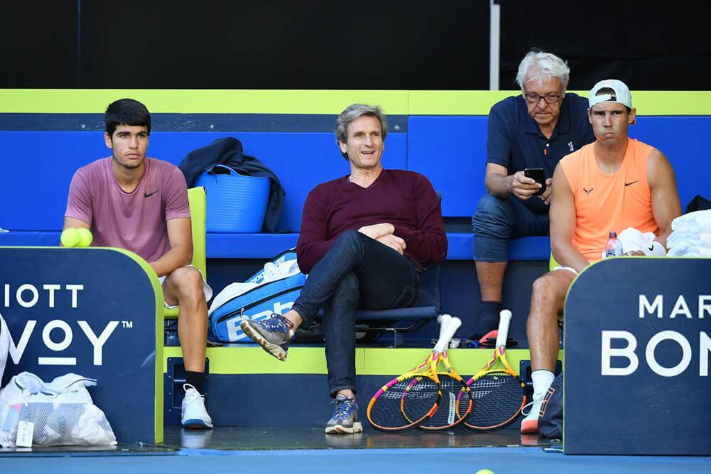 Australian Open 2021: Saturday practice photos - Rafael ...